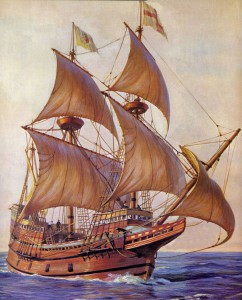 Mayflower Sailing